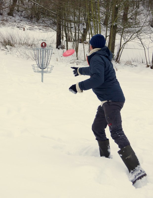 vinter-disc-golf